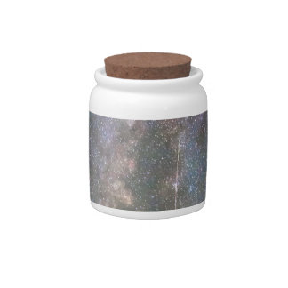 Rocky Mountain Milky Way and Falling Star Candy Dishes