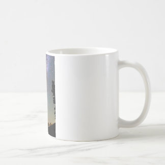 Rocky Mountain Milky Way and Falling Star Coffee Mug