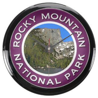 Rocky Mountain National Park Fish Tank Clocks