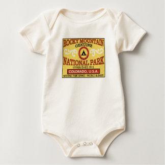 Rocky Mountain National Park Baby Bodysuit