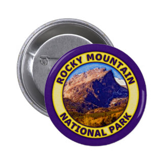 Rocky Mountain National Park Pinback Button