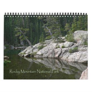 Rocky Mountain National Park Calendar