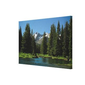 Rocky Mountain National Park , Colorado 2 Canvas Print