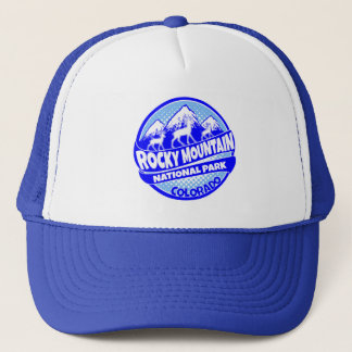 Rocky Mountain National Park Colorado blue hat