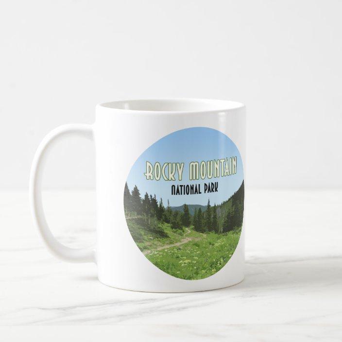 Rocky Mountain National Park Colorado Coffee Mug Zazzle Com