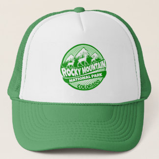 Rocky Mountain National Park Colorado green hat
