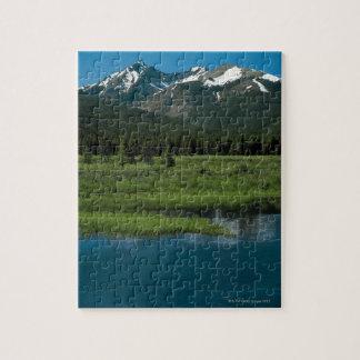 Rocky Mountain National Park , Colorado Jigsaw Puzzle