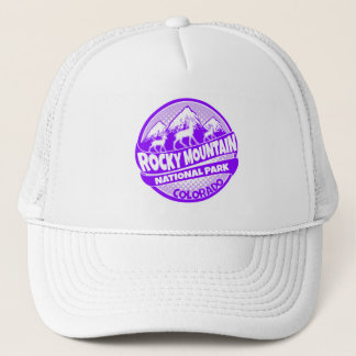 Rocky Mountain National Park Colorado purple hat