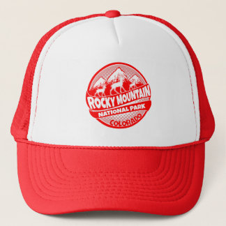 Rocky Mountain National Park Colorado red hat