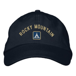 Rocky Mountain National Park Embroidered Baseball Caps