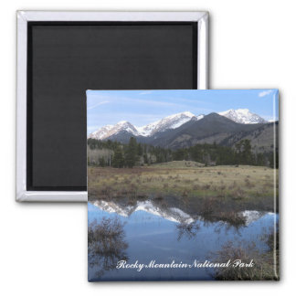 Rocky Mountain National Park Magnet Refrigerator Magnet