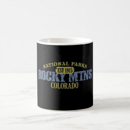 Rocky Mountain National Park Classic White Coffee Mug