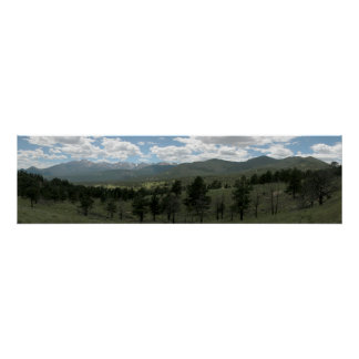 Rocky Mountain National Park Panoramic 1 Posters