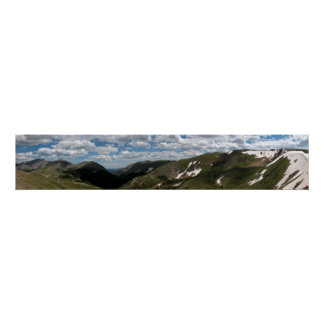 Rocky Mountain National Park Panoramic 2 Poster