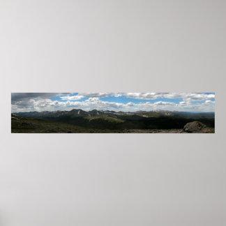 Rocky Mountain National Park Panoramic 4 Print