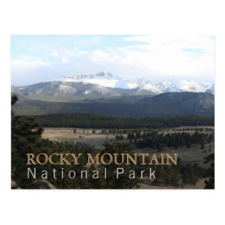 Rocky Mountain National Park Post Cards