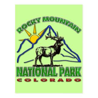 ROCKY MOUNTAIN NATIONAL PARK POSTCARD