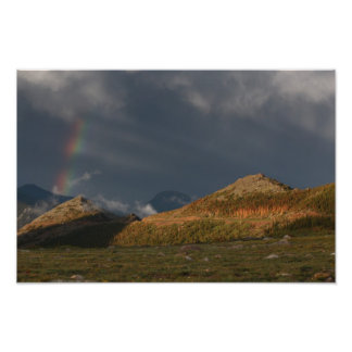 Rocky Mountain National Park Rainbow Photo