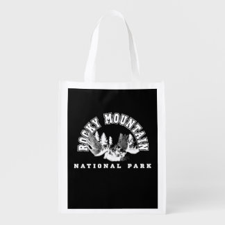Rocky Mountain National Park Reusable Grocery Bags