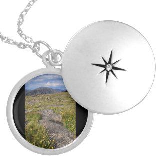 Rocky Mountain National Park Round Locket Necklace