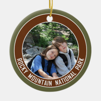 Rocky Mountain National Park Souvenir Ceramic Ornament