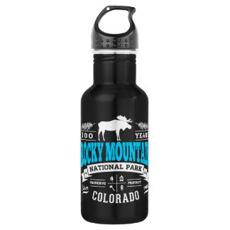 Rocky Mountain National Park Stainless Steel Water Bottle