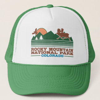Rocky Mountain National Park Trucker Hat