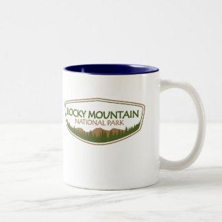 Rocky Mountain National Park Two-Tone Coffee Mug