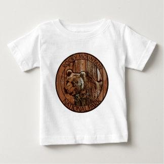 Rocky Mountain National Park wooden bear Baby T-Shirt