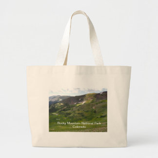 Rocky Mountain National Parkt Large Tote Bag