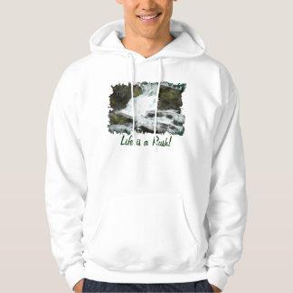 Rocky Mountain Nature-lover Waterfall Hoodie