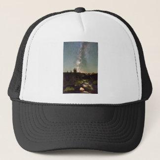 Rocky Mountain Night Trucker Hat