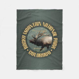 Rocky Mountain NP Fleece Blanket