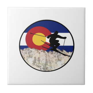 Rocky Mountain Pass Tile