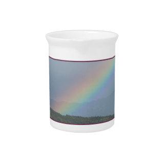 Rocky Mountain Rainbow Beverage Pitchers