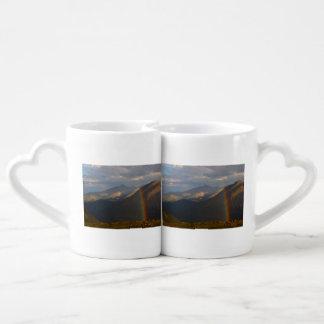 Rocky Mountain Rainbow Coffee Mug Set