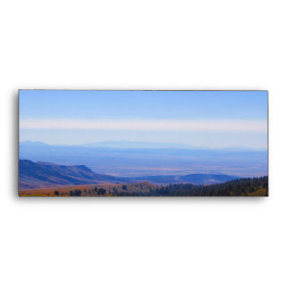 Rocky Mountain range picture envelope