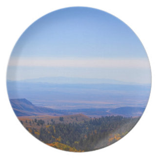 Rocky Mountain range picture plate