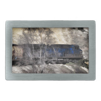 Rocky Mountain Ranger Train Belt Buckle