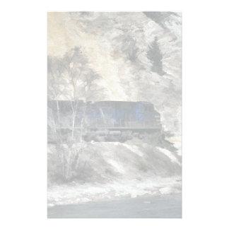 Rocky Mountain Ranger Train Stationery