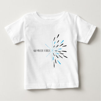Rocky Mountain Recorders Burst on Light Colors Baby T-Shirt