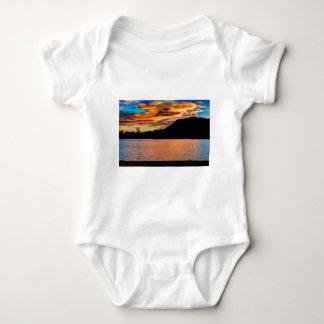 Rocky Mountain Reflection Baby Bodysuit