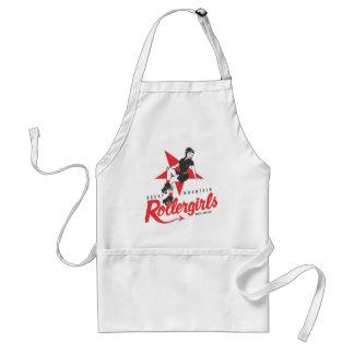Rocky Mountain Rollergirls Apron
