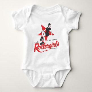 Rocky Mountain Rollergirls Baby Bodysuit