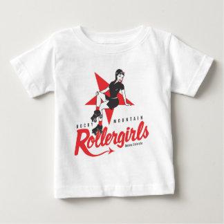 Rocky Mountain Rollergirls Baby T-Shirt