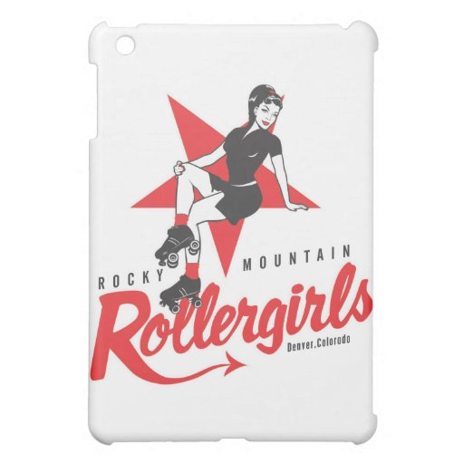Rocky Mountain Rollergirls Case For The iPad Mini