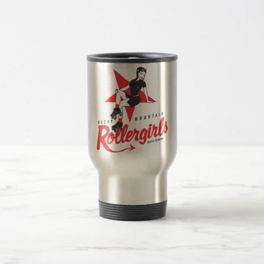 Rocky Mountain Rollergirls Travel Mug
