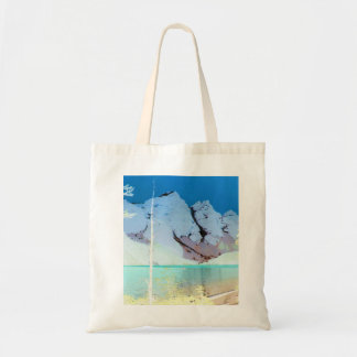 Rocky Mountain Scene of Lake Moraine on Tote