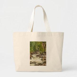 Rocky Mountain Streamin Dreamin Jumbo Tote Bag