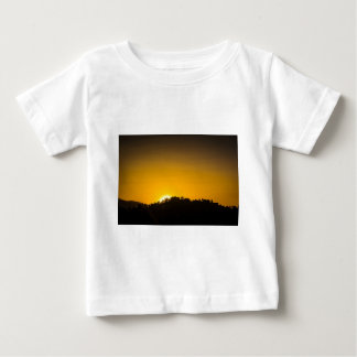 Rocky Mountain Sunset Baby T-Shirt